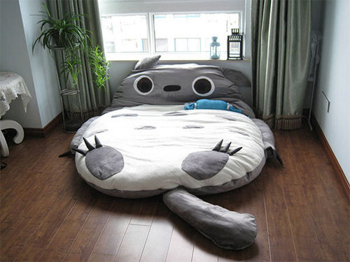 Free Shipping Big Huge Cute Models 230cm Totoro Bed